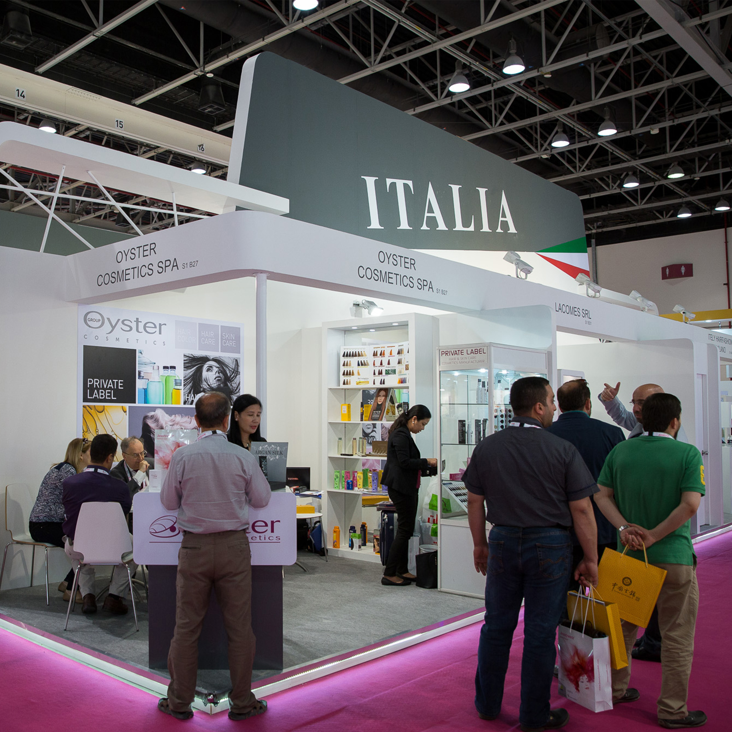 Italian beauty brands set sights on lucrative Middle East