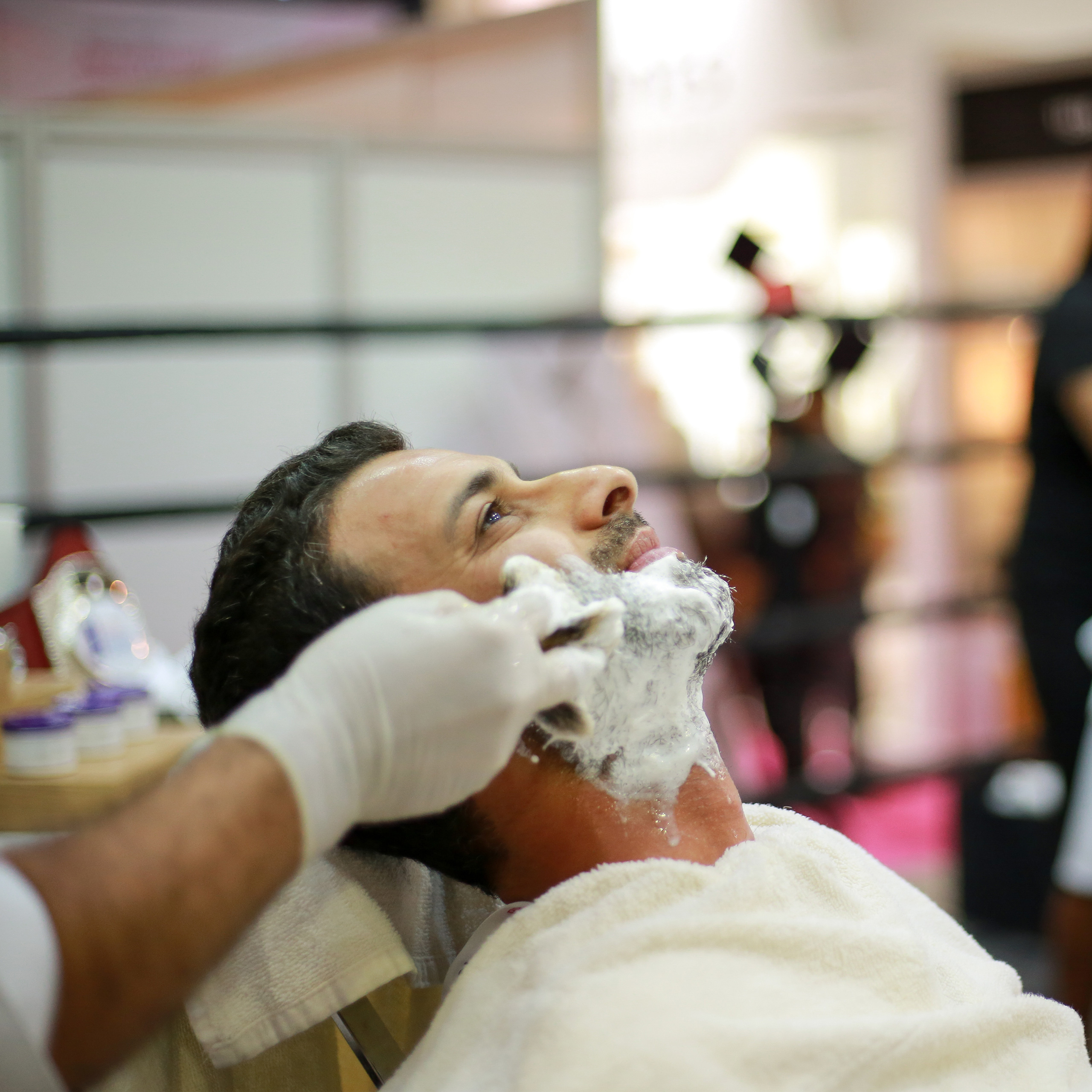 Beautyworld Middle East - UAE's finest barbers square off in live competition at Beautyworld Middle East 2017