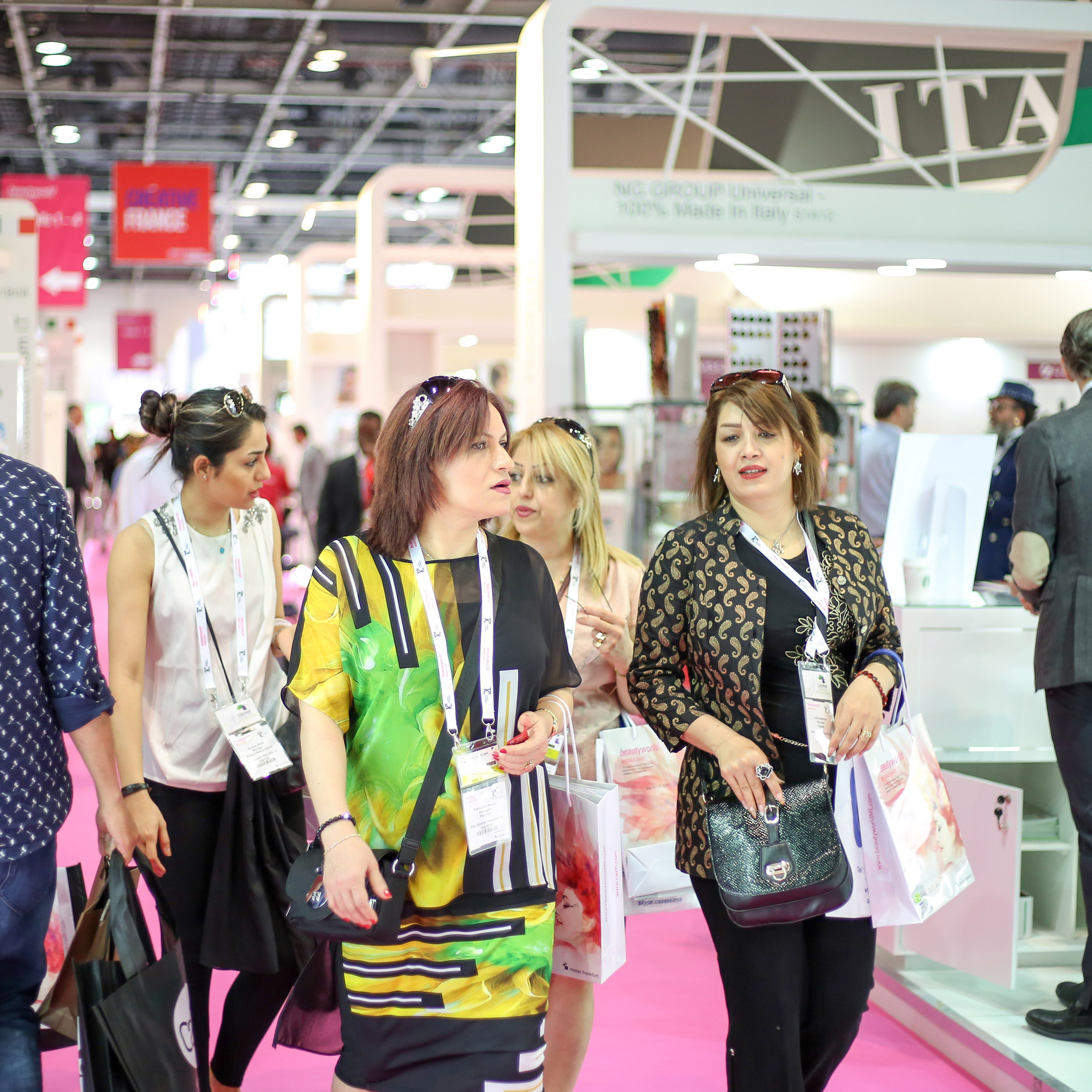 European and Asian beauty brands lead global presence at Beautyworld Middle East 2017
