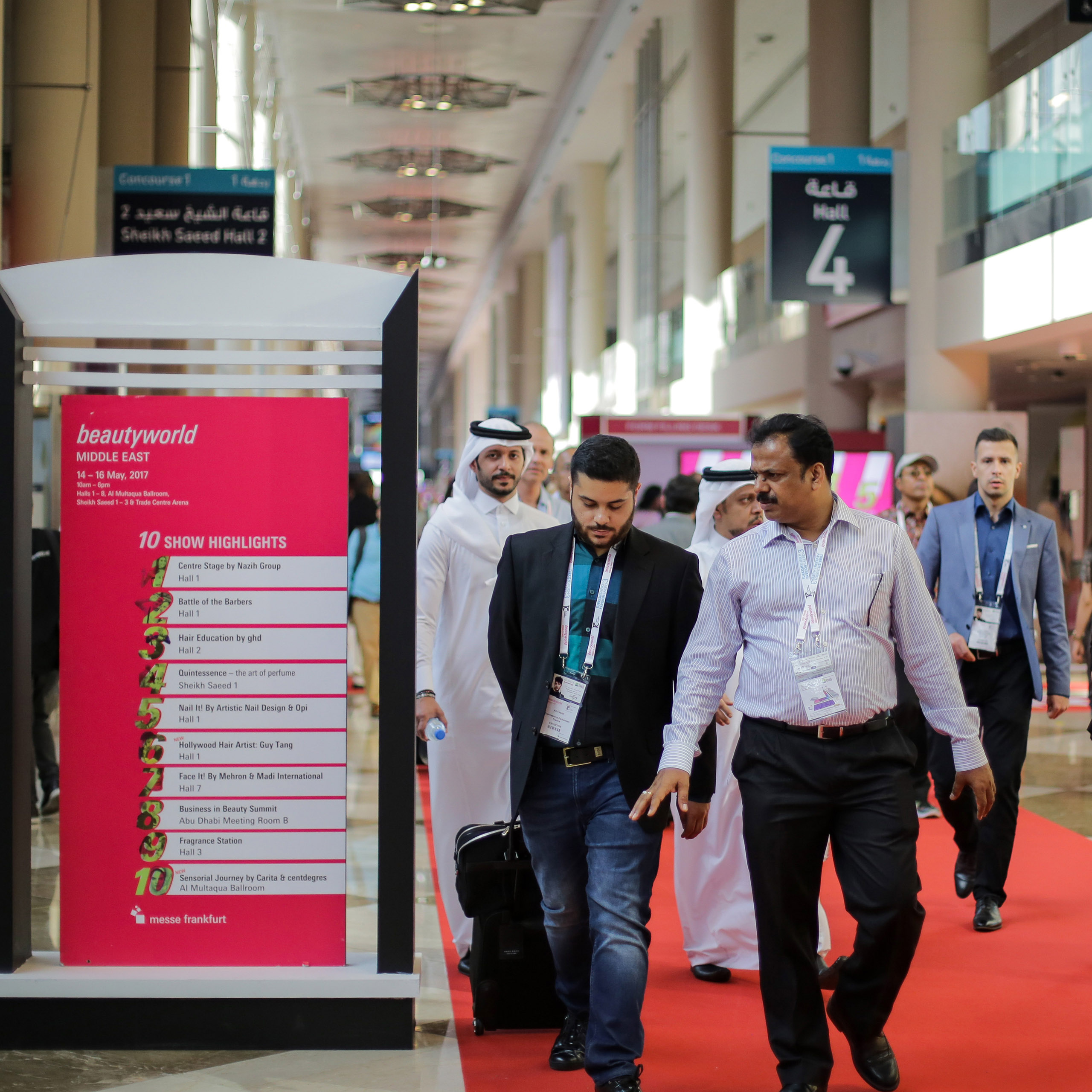 Beautyworld Middle East 2017 concludes in spectacular style attracting 42,012 visitors from 135 countries