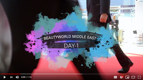 Beautyworld Middle East - 2018 video day 1
