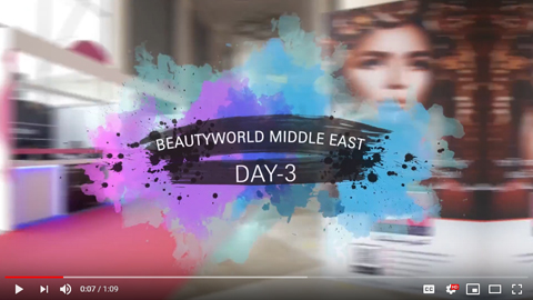 Beautyworld Middle East - 2018 video day 3