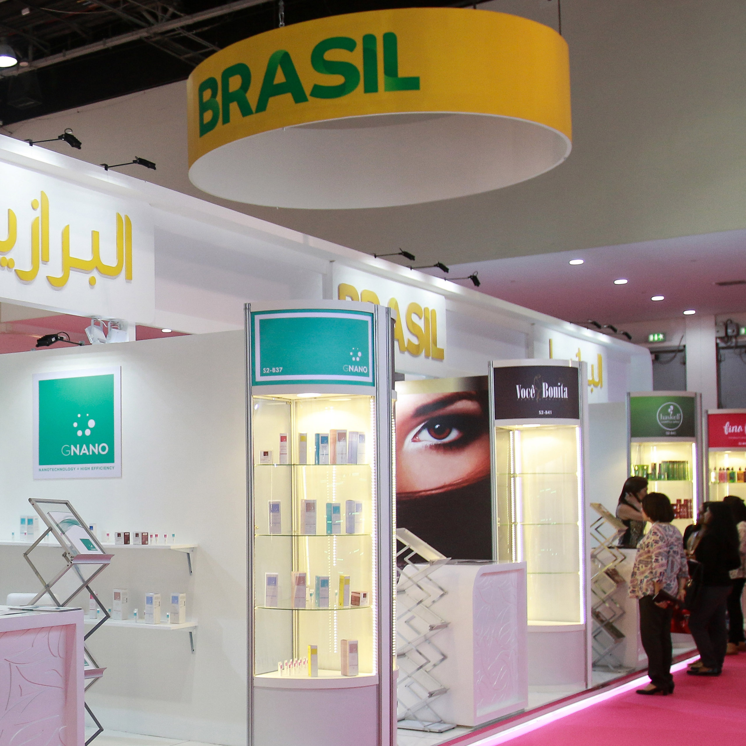 Brazilian and Korean beauty majors among impressive international turnout at Beautyworld Middle East 2018