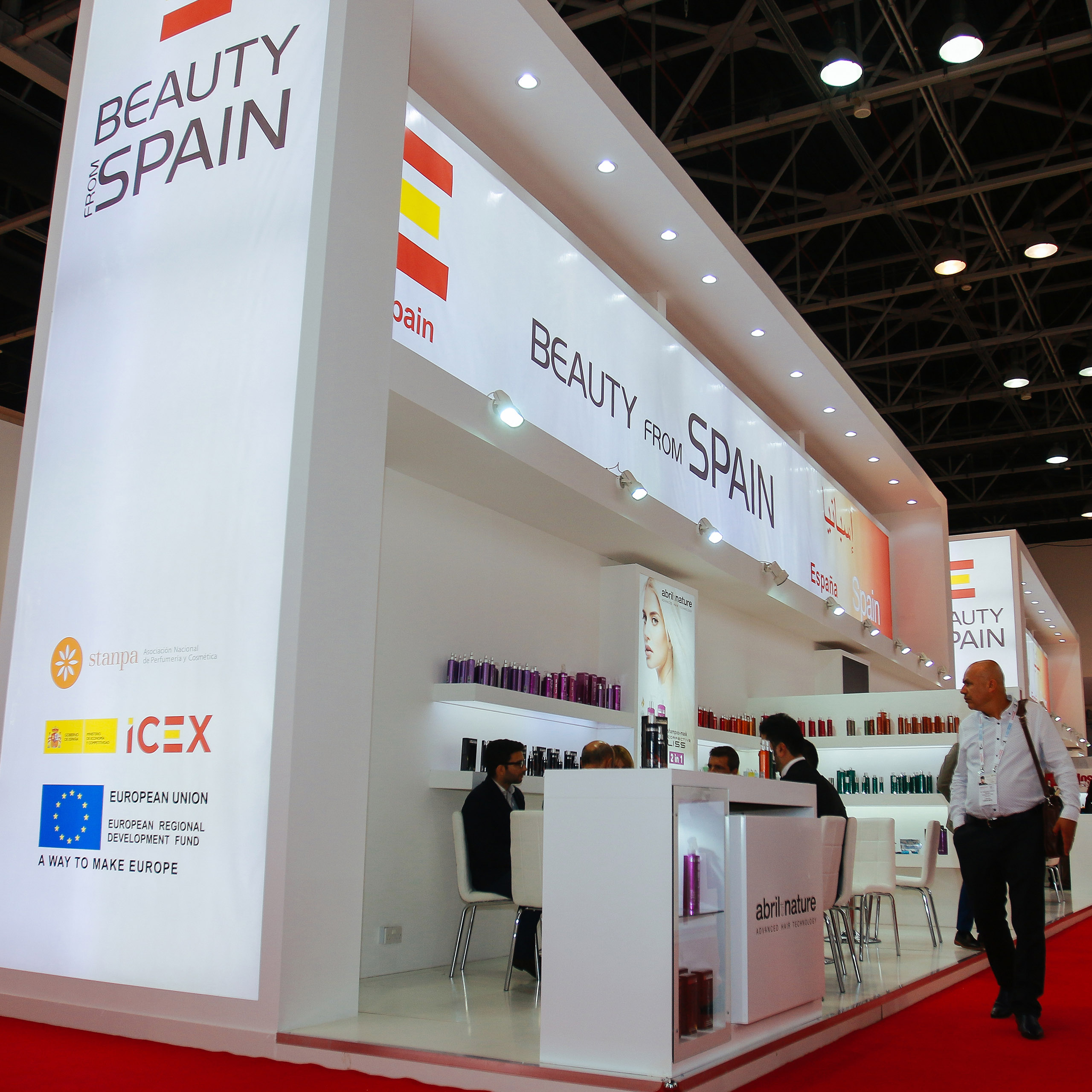 European beauty brands lead global presence at Beautyworld Middle East 2018