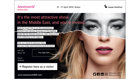 Beautyworld Middle East - English Personalized E-card