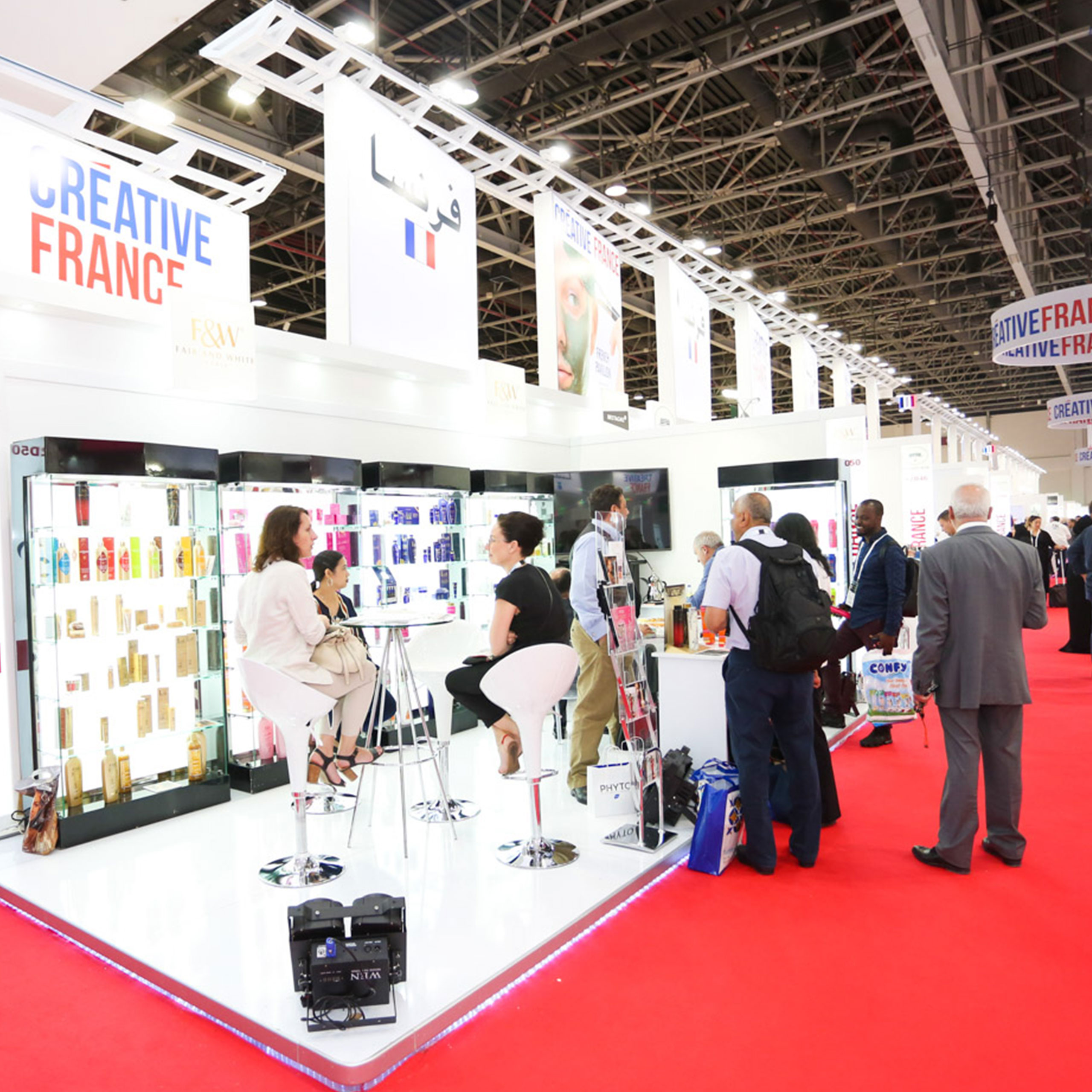 Beautyworld Middle East - International flavour at Beautyworld Middle East 2019 buoyed by strong European presence