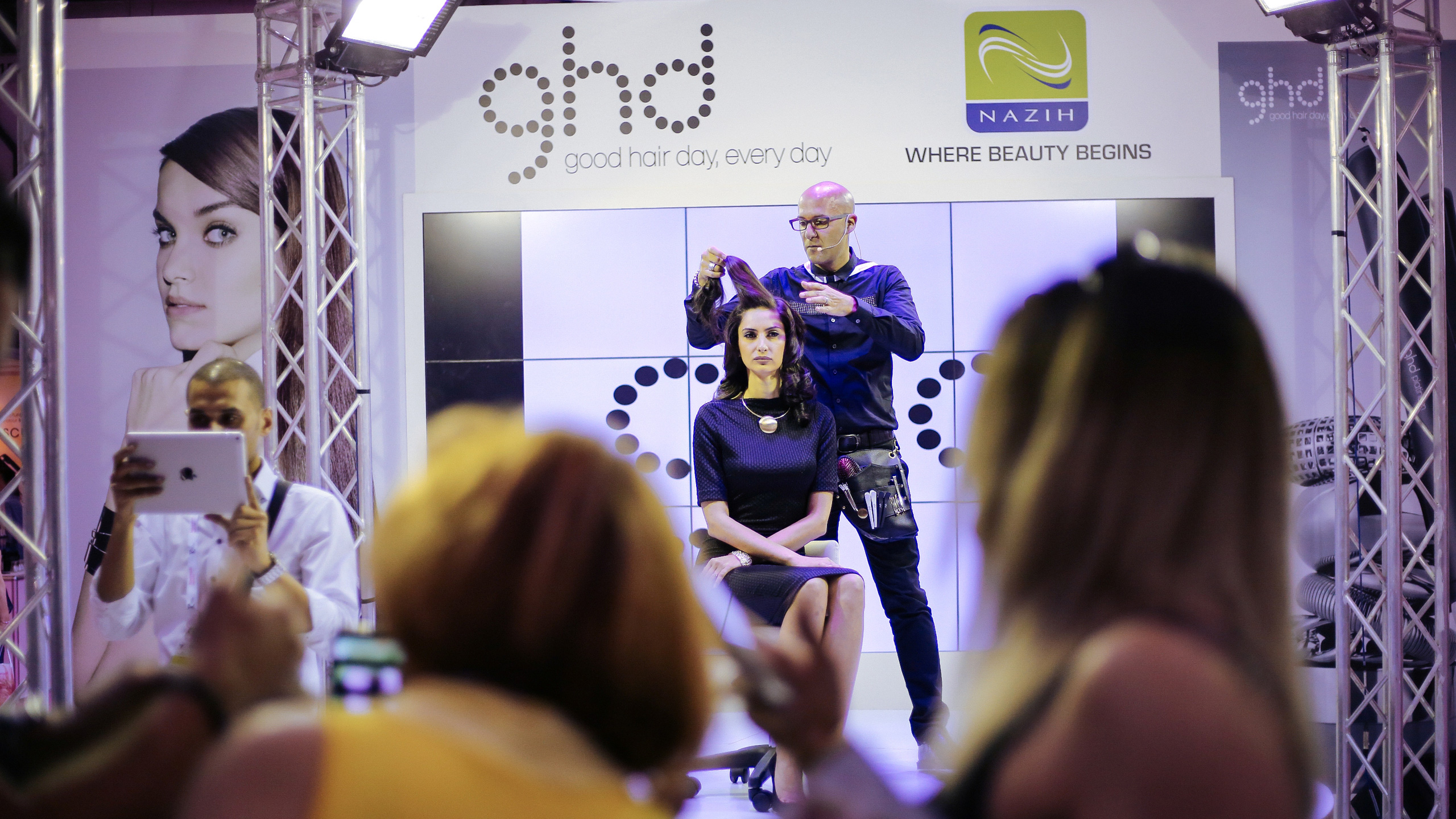 Beautyworld Middle East - Hair education by ghd