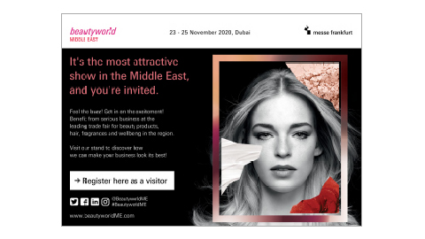 Beautyworld Middle East - English Generic E-card