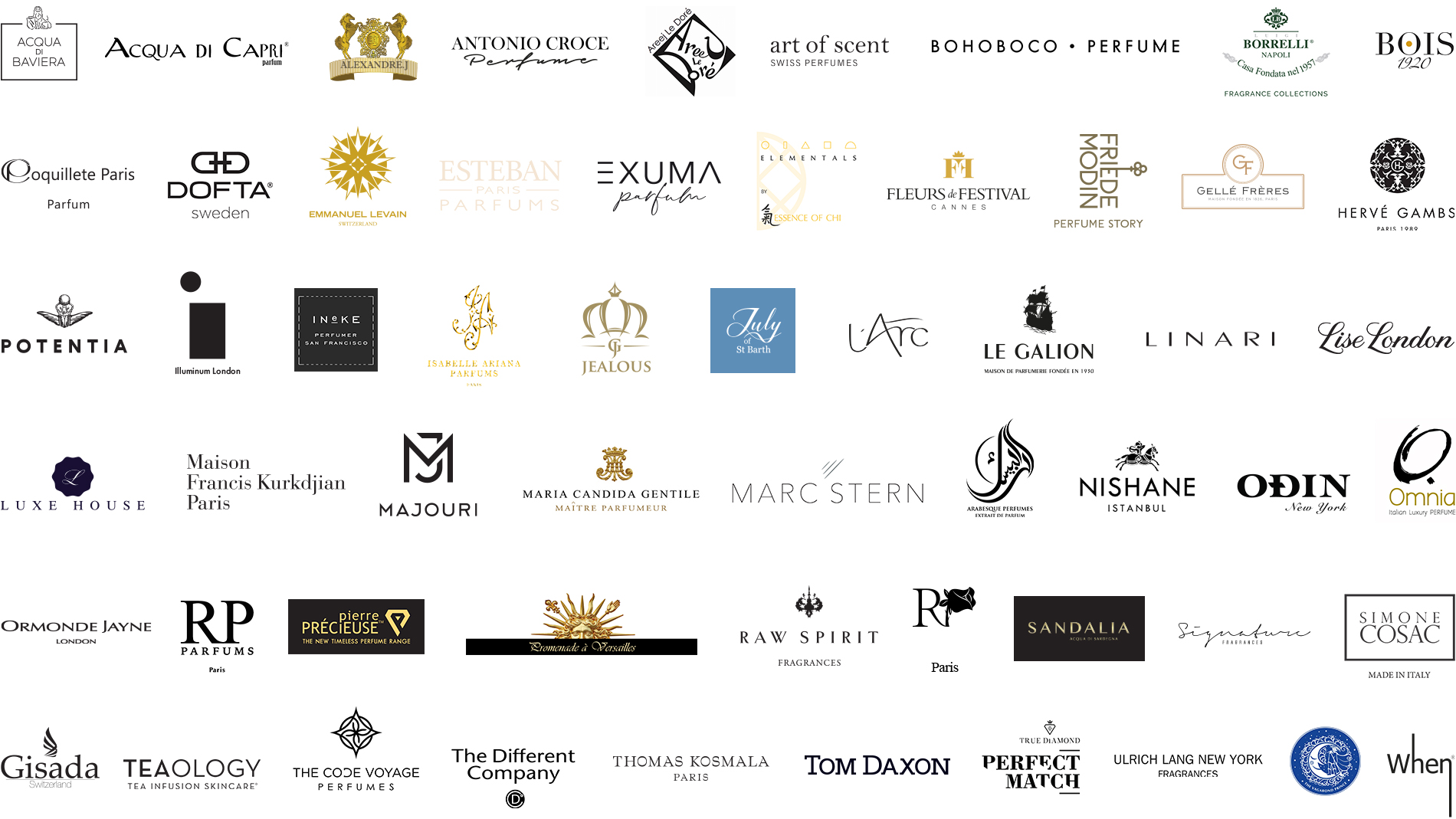 Beautyworld Middle East - Quintessence logo collage