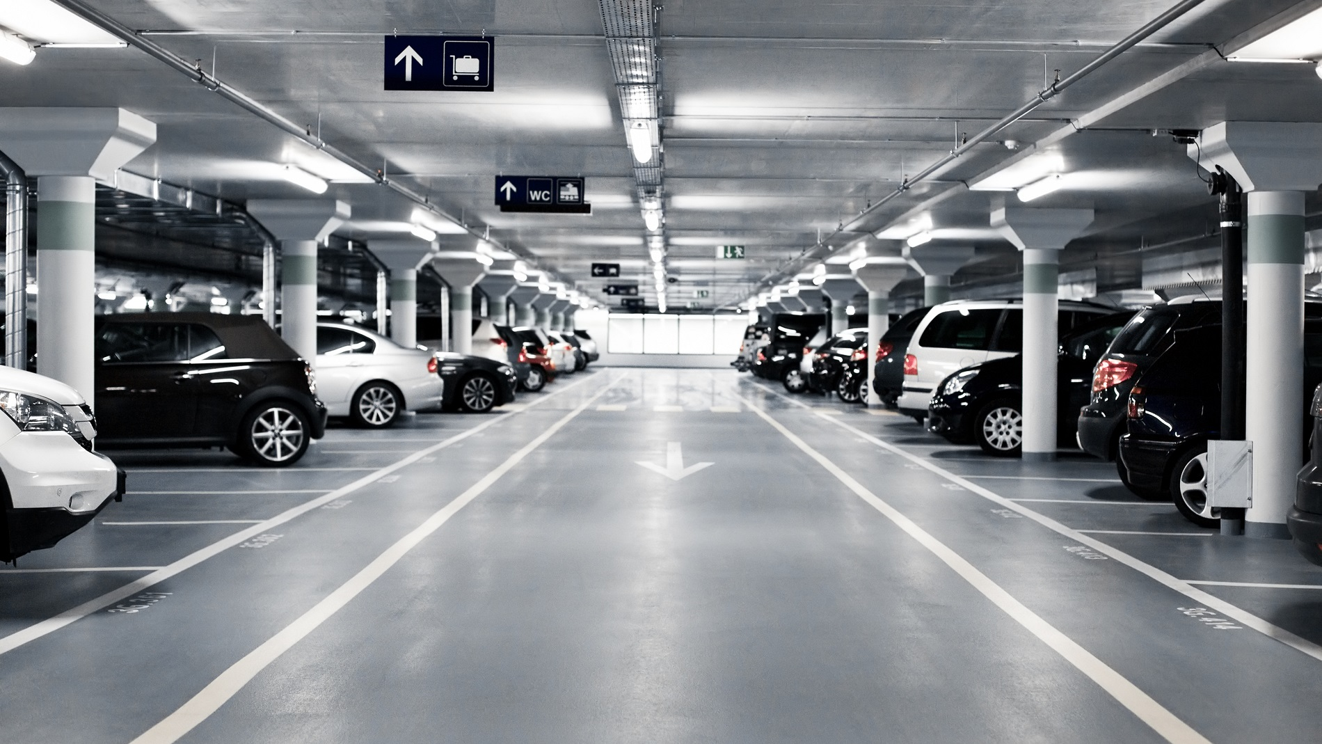 Beautyworld Middle East - Parking